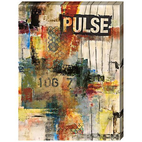 """Pulse I Giclee Print Indoor/Outdoor 48"""" High Wall Art"""