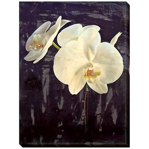 "Midnight Garden I Limited Edition Giclee 48"" High Wall Art"
