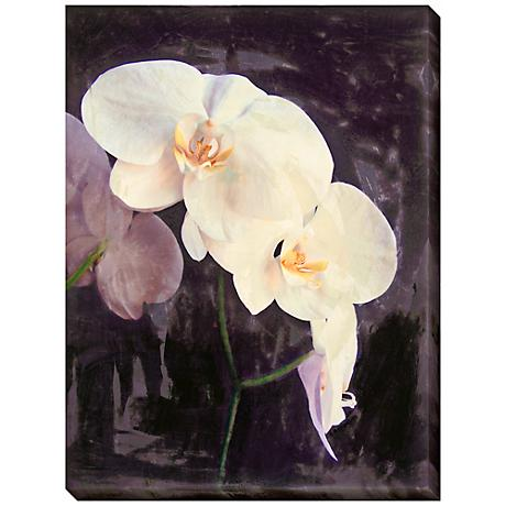 "Midnight Garden II Limited Edition Giclee 48"" High Wall Art"