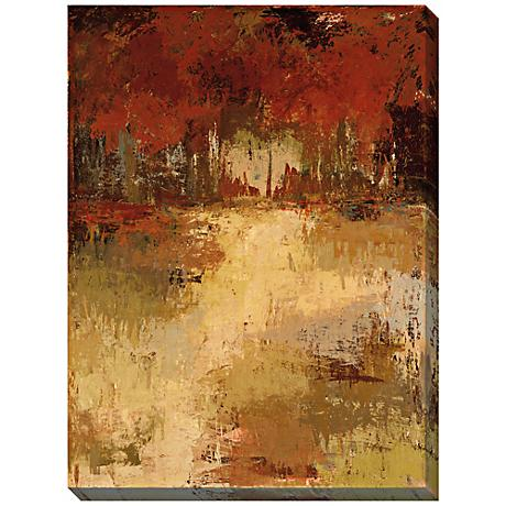 """Fall Foliage I Giclee Print Indoor/Outdoor 48"""" High Wall Art"""