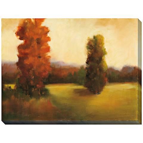 "Autumn Dusk II Giclee Print Indoor/Outdoor 48"" Wide Wall Art"