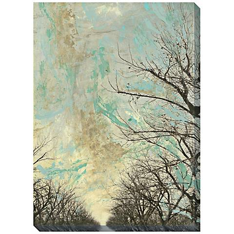 """Entrancement I Giclee Print Indoor/Outdoor 48"""" High Wall"""