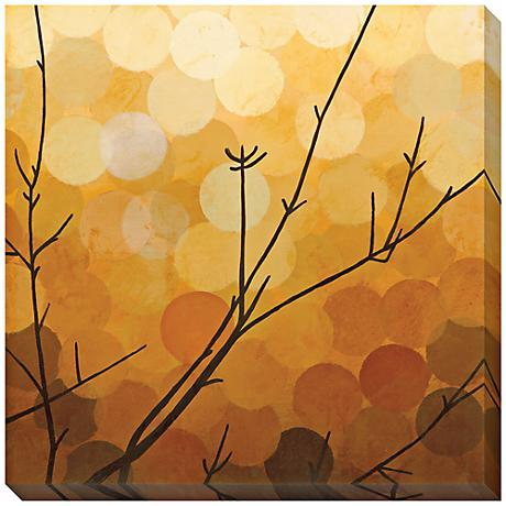 """Autumn Shade I Limited Edition Giclee 40"""" Square Wall Art"""