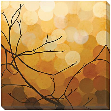 """Autumn Shade II Limited Edition Giclee 40"""" Square Wall Art"""