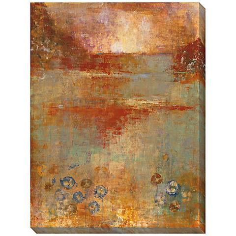 """Umber View II Limited Edition Giclee 48"""" High Wall Art"""