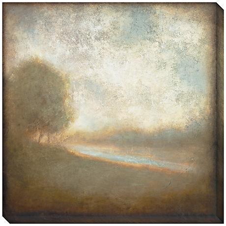 """Cloudscape II Indoor/Outdoor 40"""" Square Wall Art"""