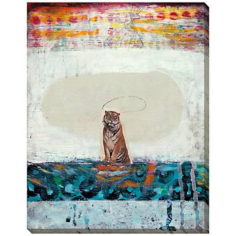 """Safari Creature I Giclee Indoor/Outdoor 48"""" High Wall Art"""