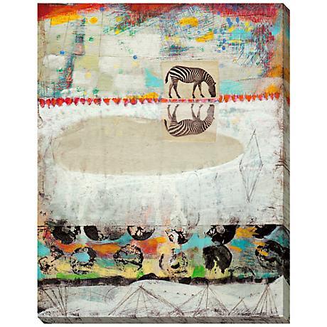"""Safari Creature II Giclee Indoor/Outdoor 48"""" High Wall Art"""