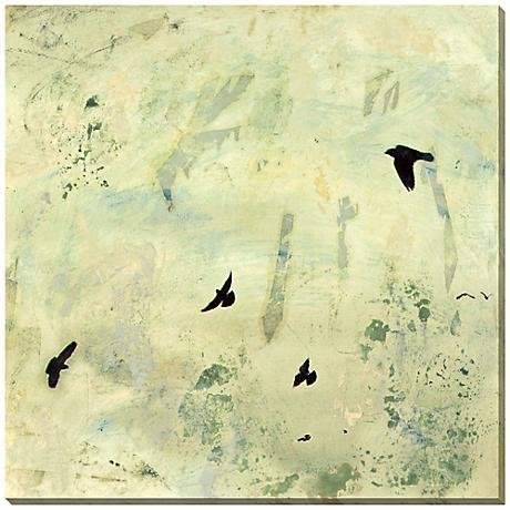"Fly Away II Giclee Print Indoor/Outdoor 40"" Square Wall Art"