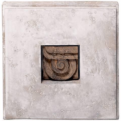 Shadow Box I Faux Stone Finish Wall Art