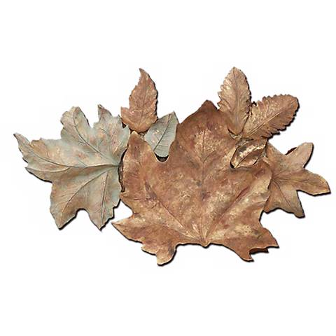 "Foliage Collage 33"" Wide Wall Art"