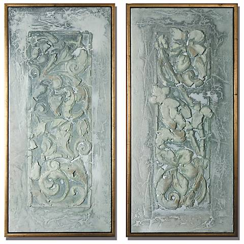 Decorative Flower Scroll Wall Decor Panels