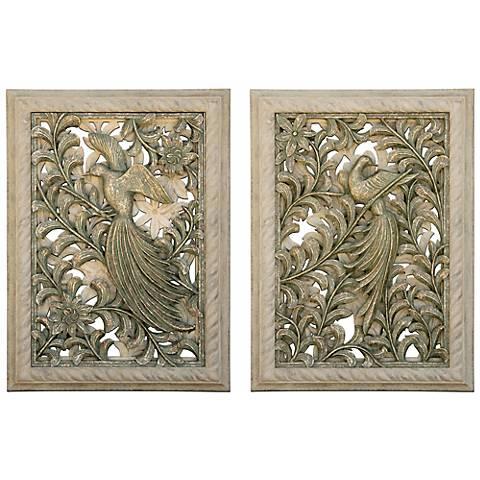 Kepuhi Bird Set of 2 Wall Art Panels