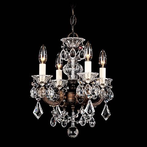"Schonbek La Scala 12 1/2""W Heritage Crystal Mini Chandelier"