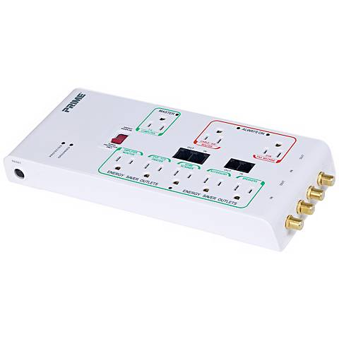 Energy Saver Eight Outlet Surge Protector