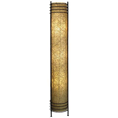 Eangee Abaca Tower Floor Lamp