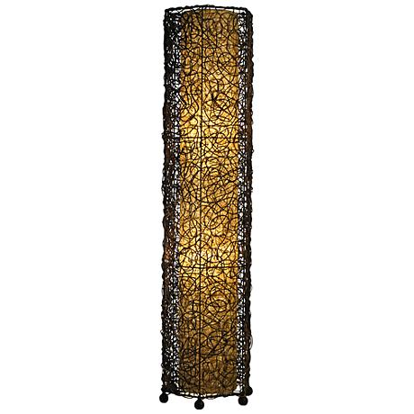 Eangee Durian Nito Tower Vines Iron Floor Lamp