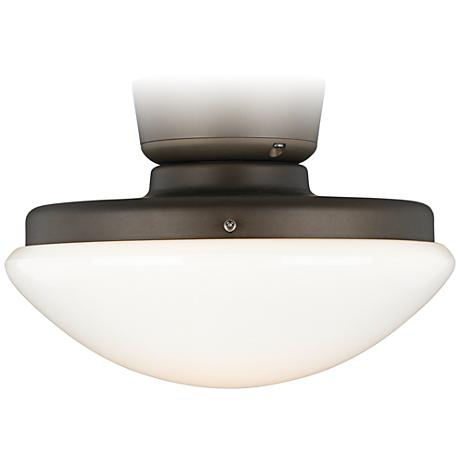 Oil-Rubbed Bronze Pull Chain CFL Ceiling Fan Light Kit