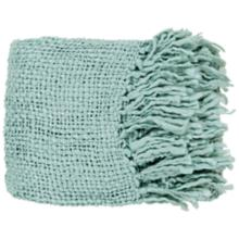 Tobias Collection Spa Blue Throw