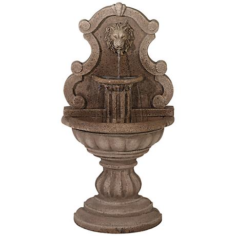 """Royal Lion Reconstituted Granite 46"""" High Floor Fountain"""