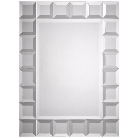 """Square Cut Trim 32"""" High Wall Mirror"""