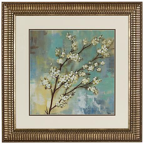 """Springtime Kyoto Blossoms 24"""" Square Wall Art"""