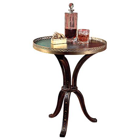 Artists Originals Hand Painted Finish Accent Table