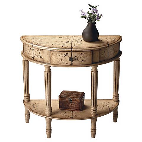 Artists Originals Collection Demilune Console Table