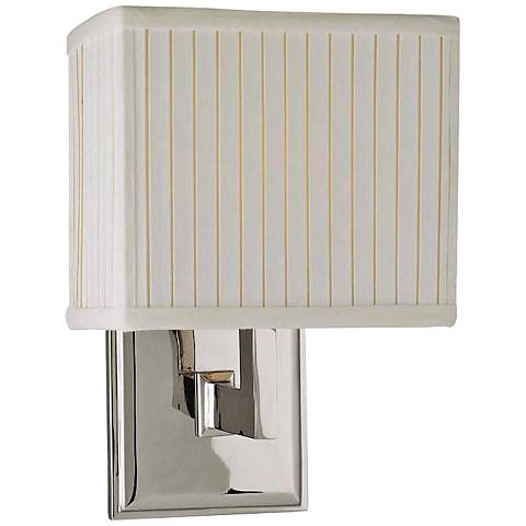 Hudson Valley Waverly Polished Nickel Wall Sconce