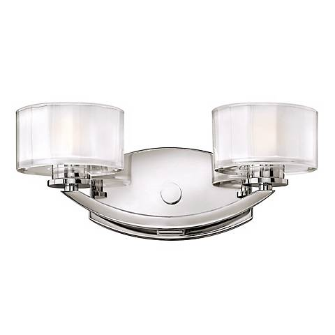 "Hinkley Meridian Collection 14"" Wide Bathroom Wall Light"
