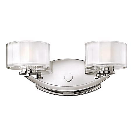 """Hinkley Meridian Collection 14"""" Wide Bathroom Wall Light"""