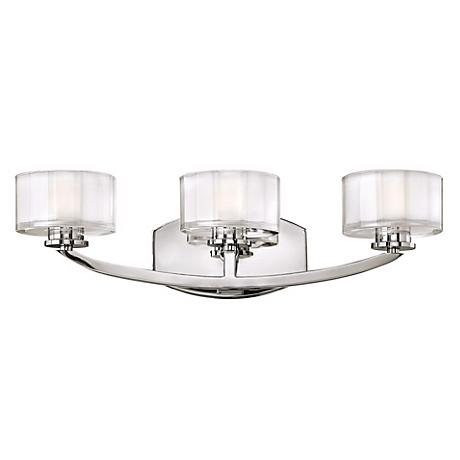 """Hinkley Meridian Collection 21"""" Wide Bathroom Wall Light"""