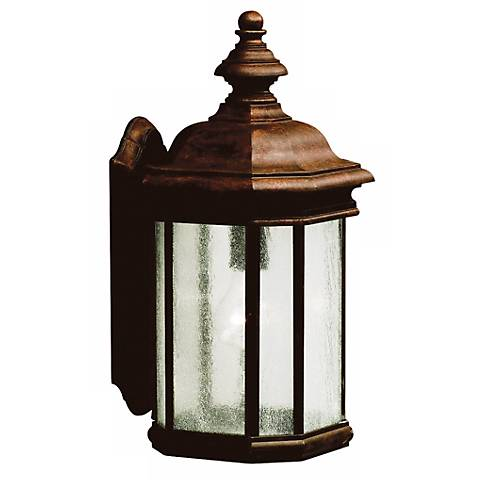"Kirkwood Tannery Bronze 17"" High Outdoor Wall Light"
