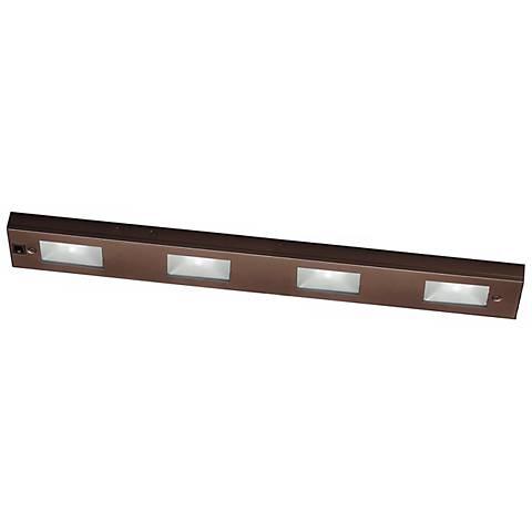 "WAC Bronze Xenon 24"" Wide Under Cabinet Light Bar"
