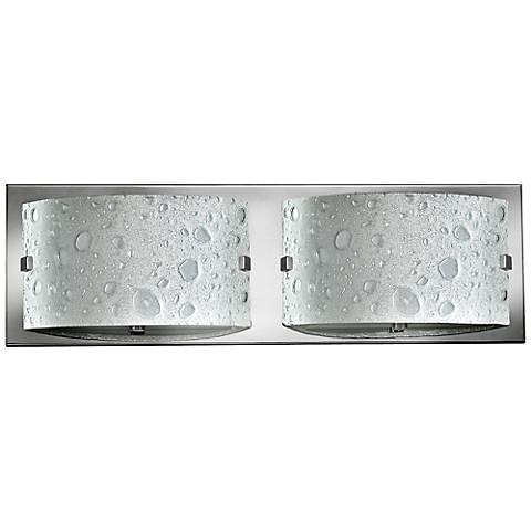 "Hinkley Daphne 16"" Wide Chrome Bathroom Light"