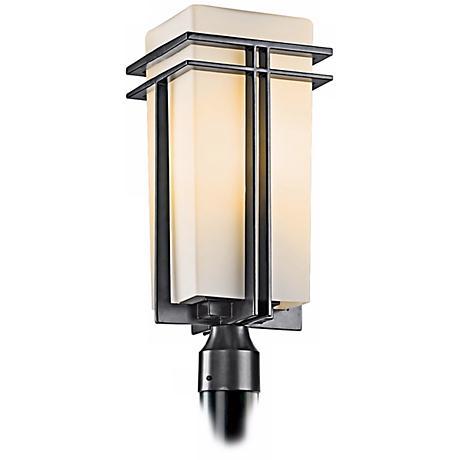 "Tremillo Energy Efficient 20"" High Black Outdoor Post Light"