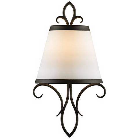 """Feiss Peyton Collection 14 1/4"""" High Wall Sconce"""