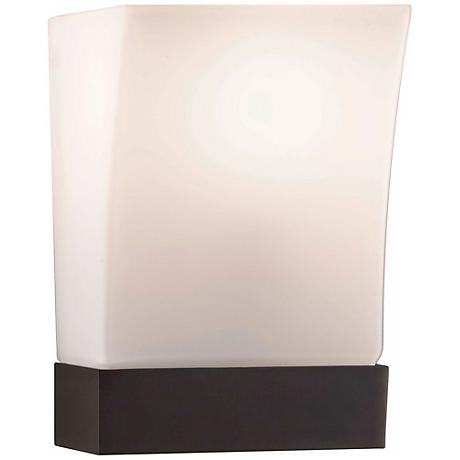 """Feiss Blake Oil-Rubbed Bronze 9"""" High Wall Sconce"""