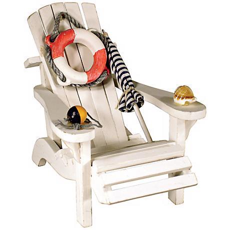 Judith Edwards Designs Beach Chair Decor Accent