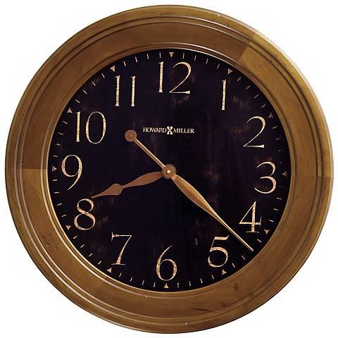 "Howard Miller Brenden Gallery 25""  Wide Wall Clock"