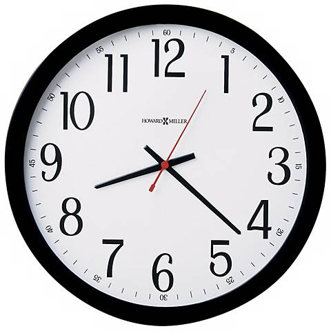 "Howard Miller 16"" Wide Gallery Wall Clock"