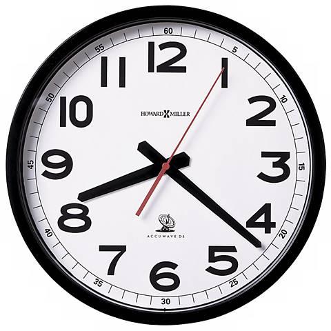 "Howard Miller Accuwave 12 1/4"" Wide Wall Clock"