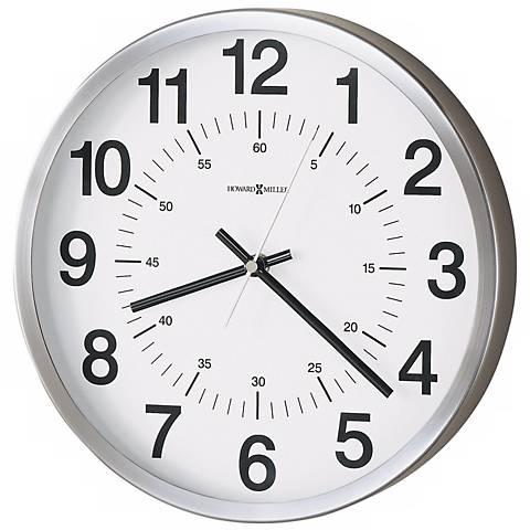 """Howard Miller Easton 12""""  Wide Wall Clock"""