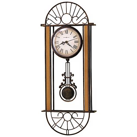 "Howard Miller Devahn 23 1/2"" High Wall Clock"