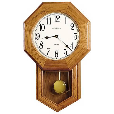 """Howard Miller Elliott 21 3/4"""" High Wall Clock"""