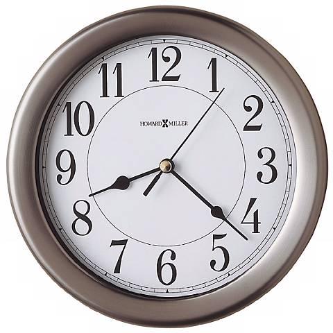 """Howard Miller Aries 8 1/2"""" Wide Wall Clock"""