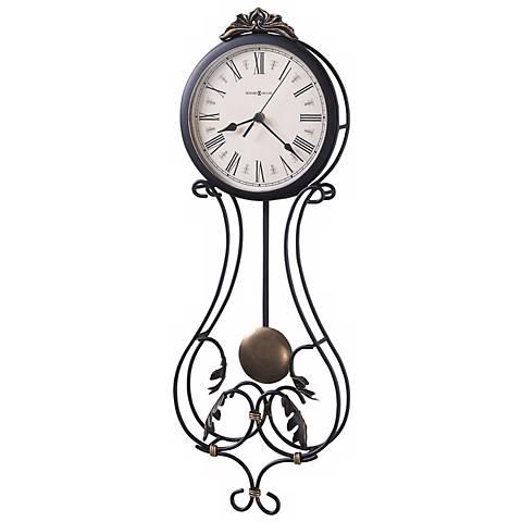 """Howard Miller Paulina 23 1/2"""" High Wall Clock"""