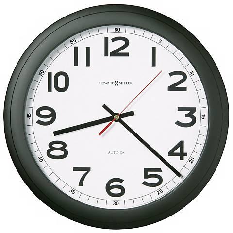 "Howard Miller Norcross 12 1/4"" Wide Wall Clock"