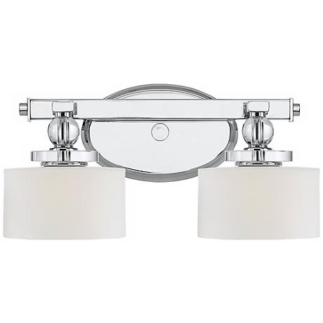 """Downtown LED Collection 15"""" Wide Bathroom Wall Light"""