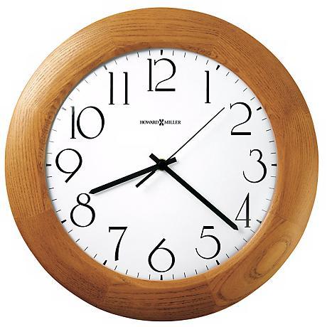 Wall Clocks At Lamps Plus : Howard Miller Santa Fe Wall Clock - #M8827 Lamps Plus